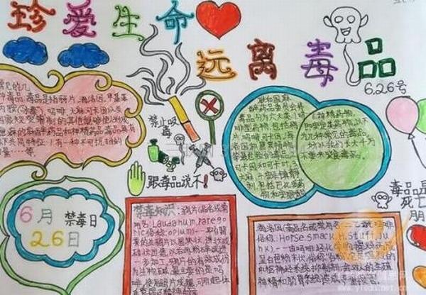 信息中心 关于禁毒手抄报怎么hua   解决方案1: 关于禁毒手抄报 一