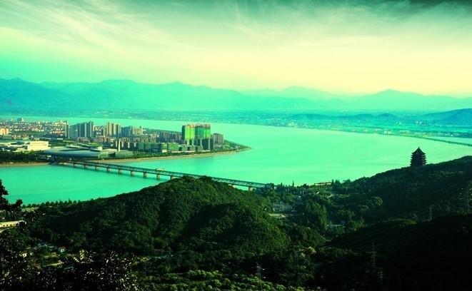浙江南汇镇风景图片