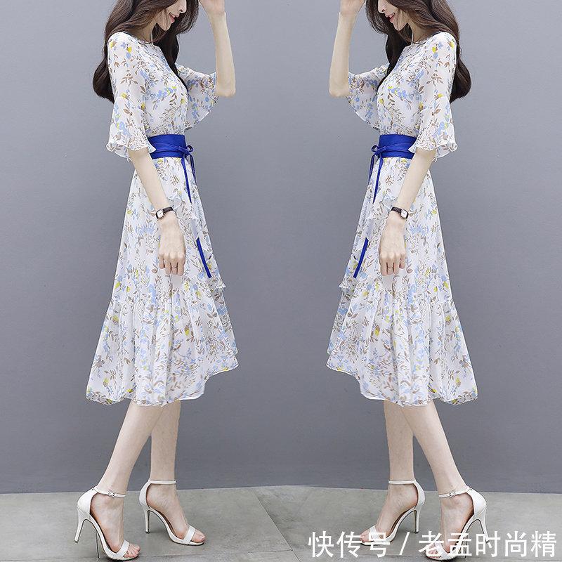 """要是你有高跟鞋, 建议试试这些""""空调裙"""", 又凉快又有女人味儿"""