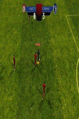 开球从足球场的中心,运球的方式向对手的球门