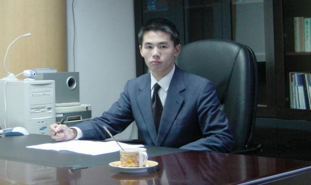卢永峰2003年工作照片