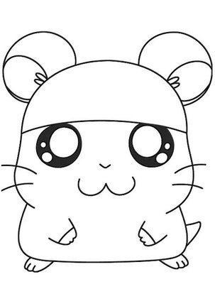 猫咪头简笔画可爱内容图片展示