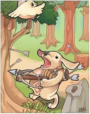 犬妖弓箭手卡片