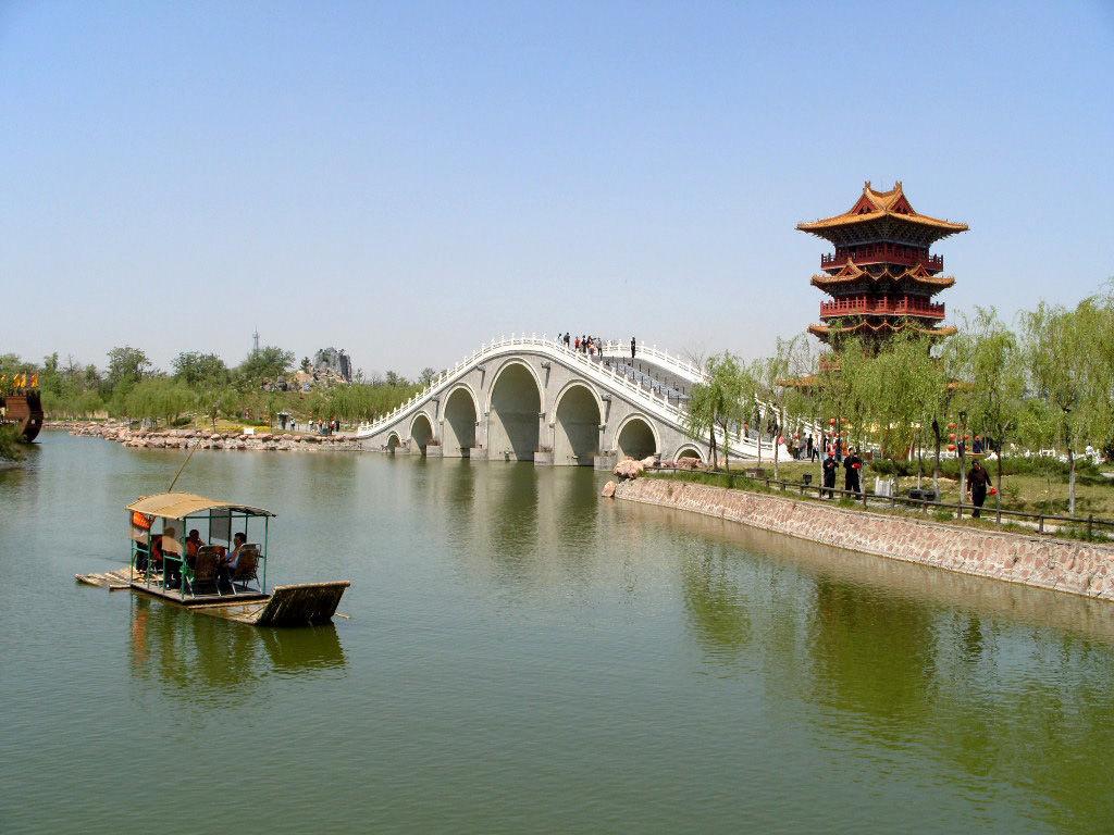 潍坊市的自然风景