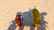 爆笑虫子:小螃蟹误食外星来物,下一秒变身变形金刚!