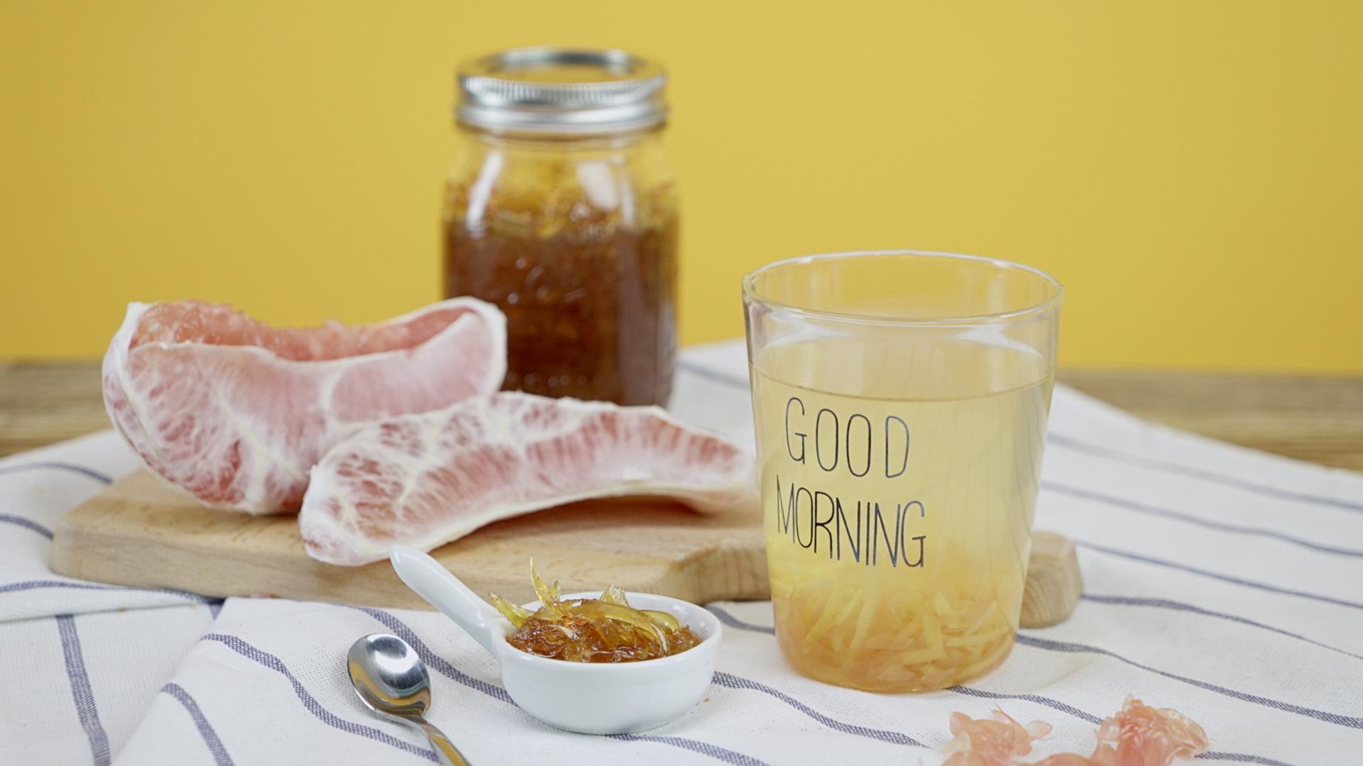 电饭锅蜂蜜柚子茶!