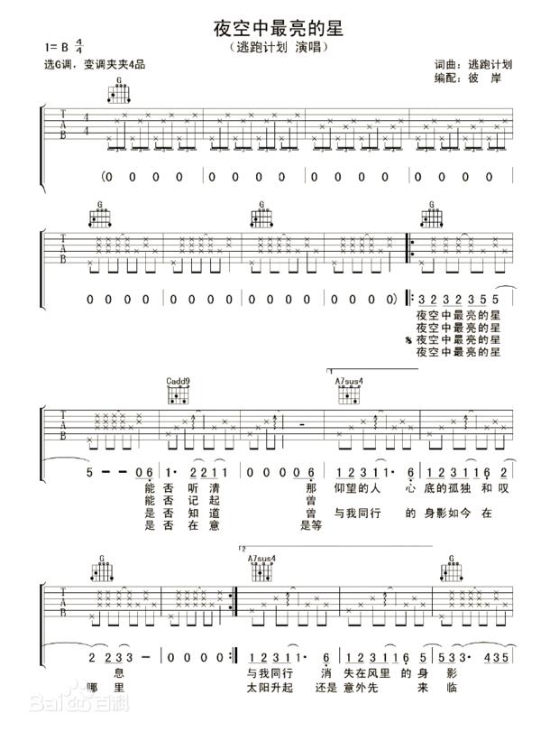 谁有简单的吉他谱,要简单的.