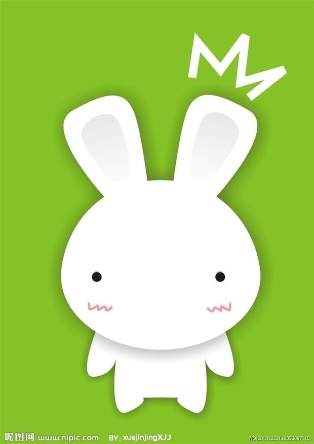 求几张可爱又萌的动漫兔子图片