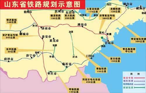 济南到郑州高铁规划图