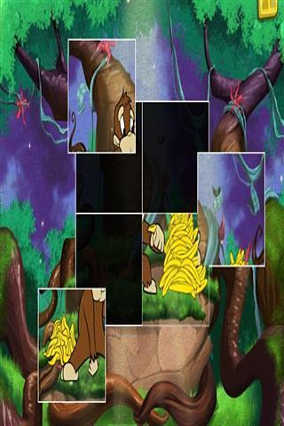 森林动物拼图
