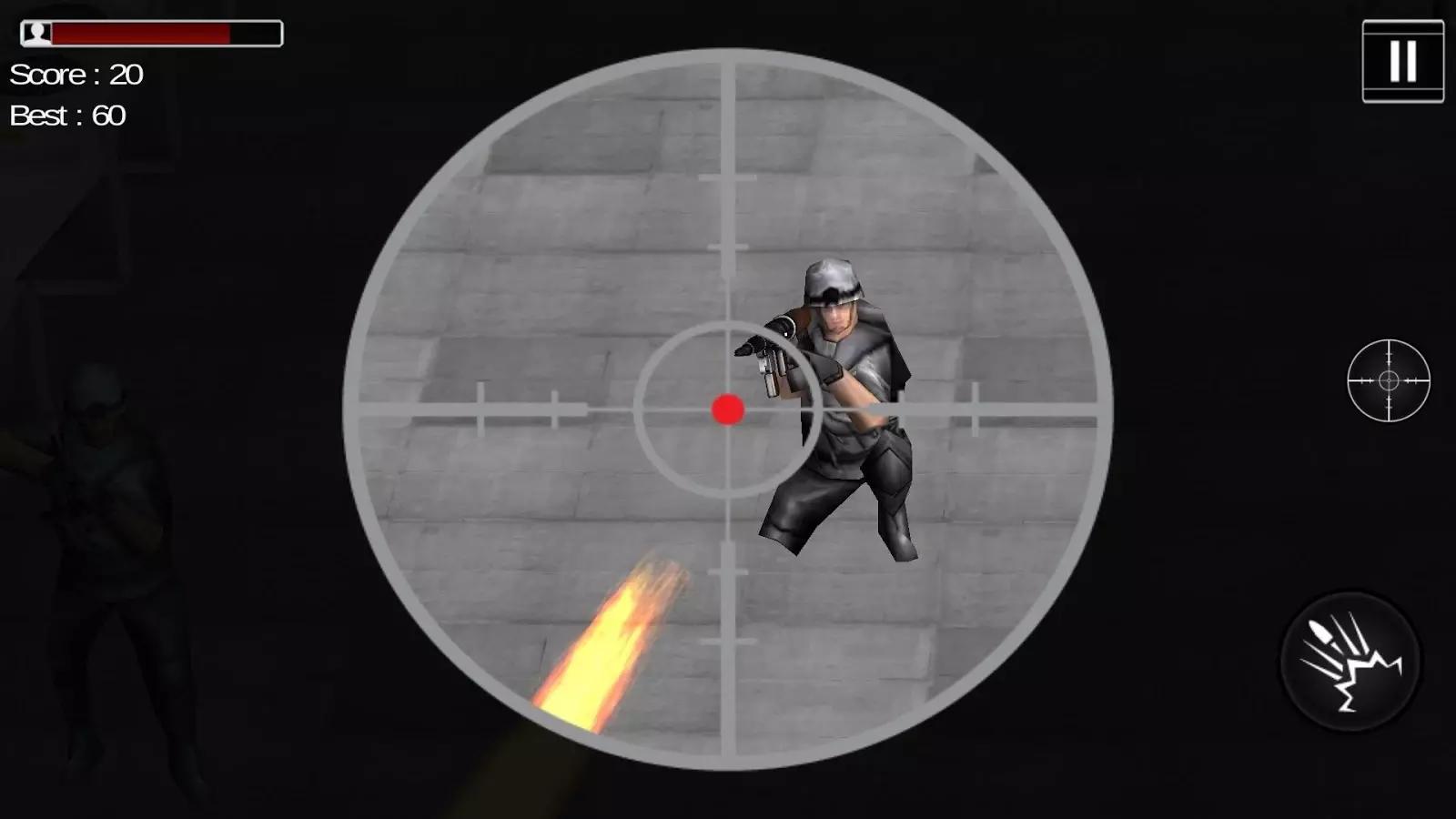 sniper仅移动目标爆头