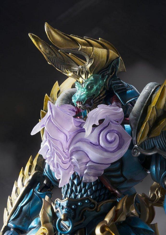 《怪物猎人》邪神觉醒雷狼龙可动模型公布