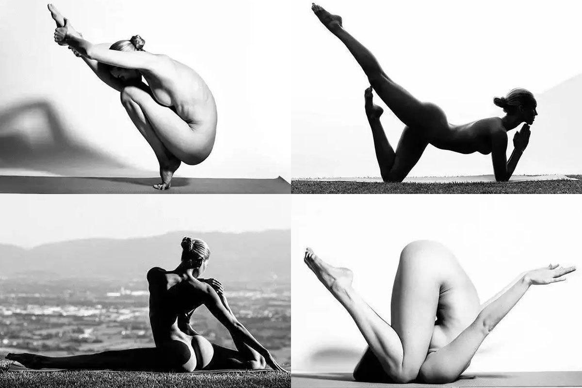 美国裸体瑜伽女神走红 中国妹子惊艳14亿人