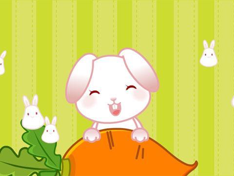 >小白兔白又白