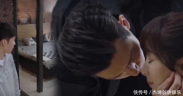 《亲爱的热爱的》韩商言准备亲佟年,小米闯了进来,场面太尴尬