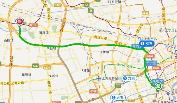 丁丁地图 上海交通路线查询