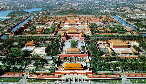 世界上最大的古建筑群 北京故宫高清图片