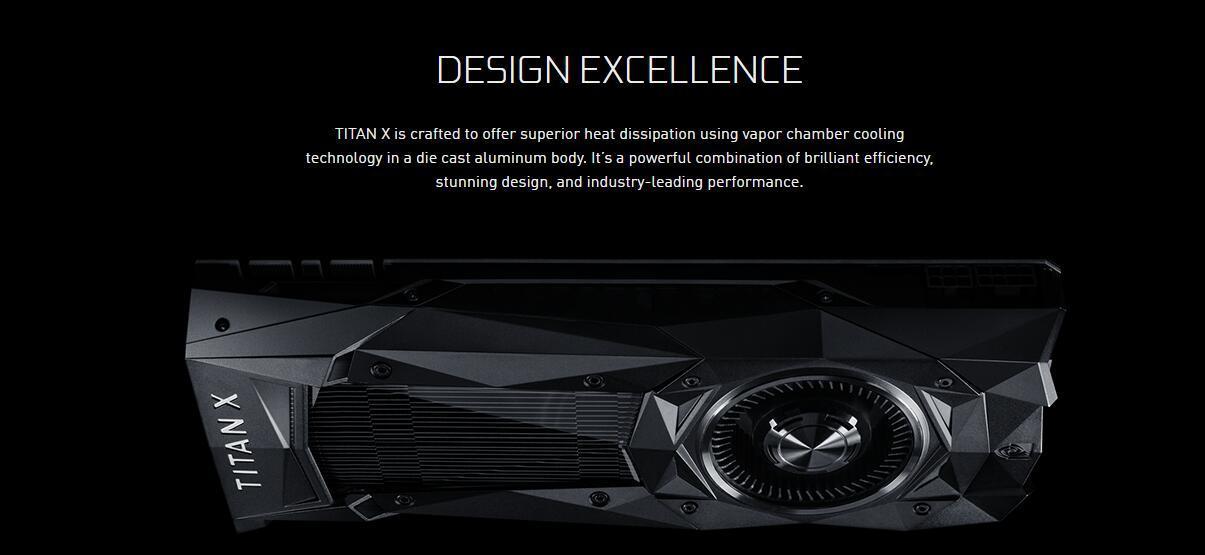 英伟达公布NEW TITAN X