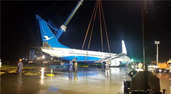 厦航客机搬离 马尼拉机场跑道重新开放