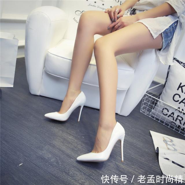 身高不足156的女人鞋子别乱穿,试试这些时尚高跟鞋,穿出163+新高度