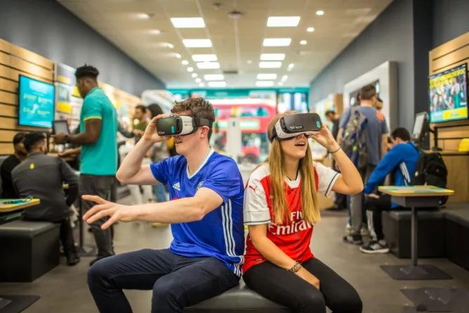 英电视台计划推出VR直播
