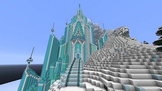 冰雪奇缘爱莎的冰雪城堡