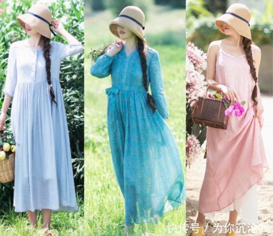 夏天热,试试穿这4种面料的裙子,清凉舒适,你中意的哪一种