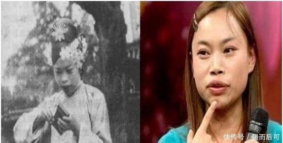 女明星撞脸百年前人物,看到凤姐网友直呼:一模一样!