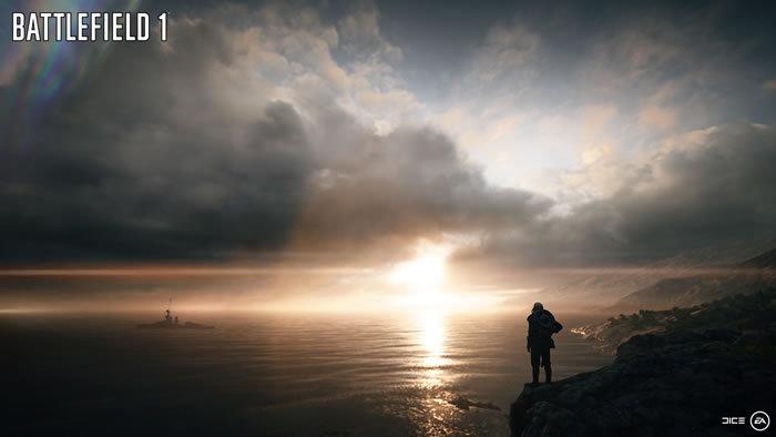 《战地1》新截图曝光游戏背景