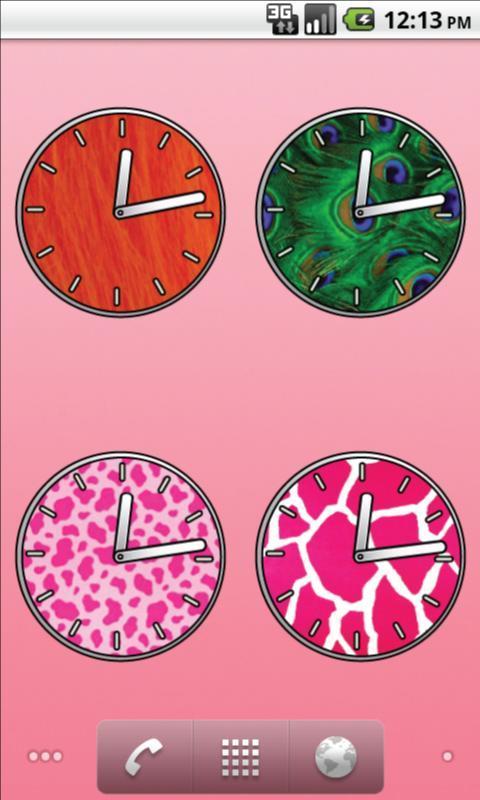 壁纸主题 动物时钟 - 免费下载,—爱皮皮 软件