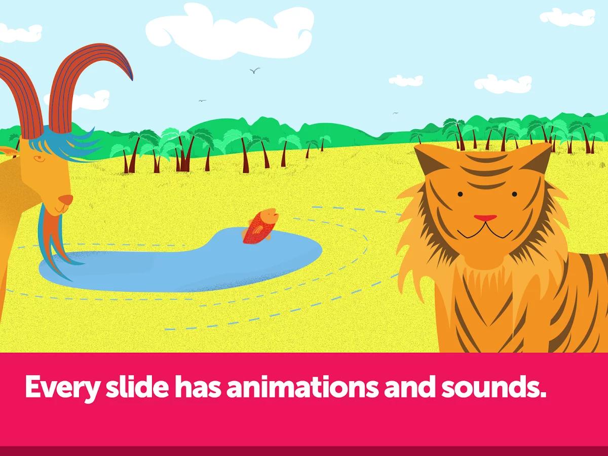 动物:绘本为孩子们的故事故事幼儿涂鸦的书