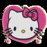 凯蒂猫时钟小部件: