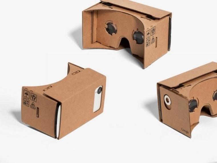 自制DIY VR虚拟现实眼镜图纸 谷歌纸盒眼镜