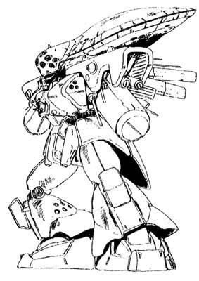 AMX-110E强行侦测型扎古Ⅲ