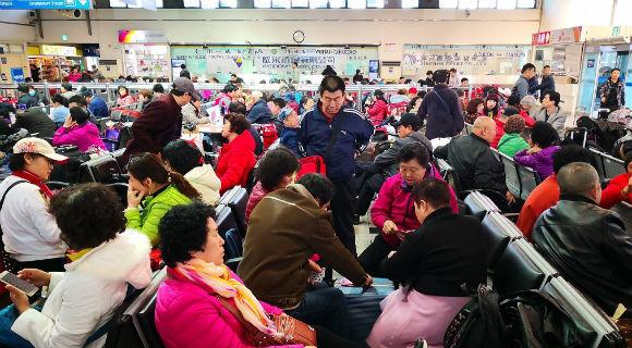 """""""萨德""""事件过后 中国人赴韩旅游升温"""