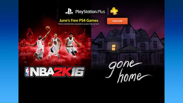 PlayStation美服6月会员免费游戏