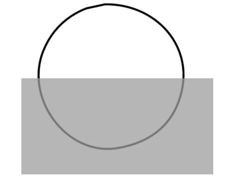 右图中长方形的面积是8平方厘米