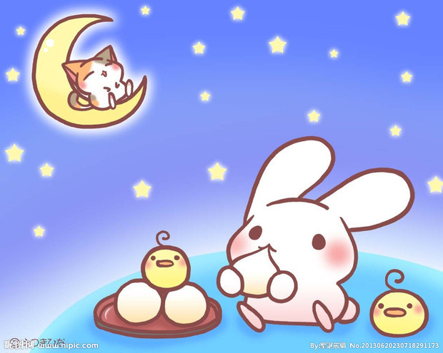 月兔怎么简笔画