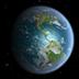 3D高清地球旋转动态壁纸:电子市场上最好的3D高清旋转地球动态壁纸