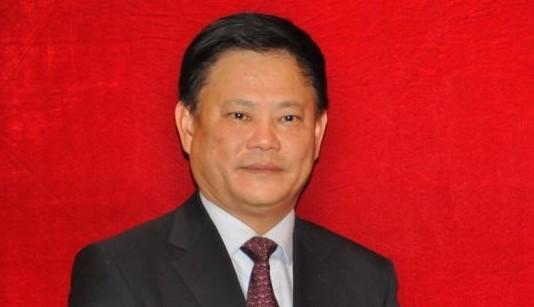 十八大代表,海南省委常委,宣传部长许俊.