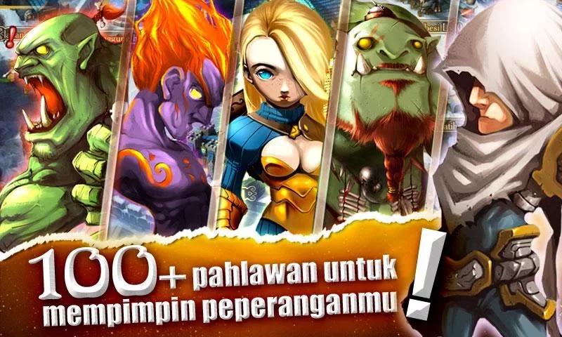 karakter dan scene dalam permainan ini dibuat dalam 3d, pemain