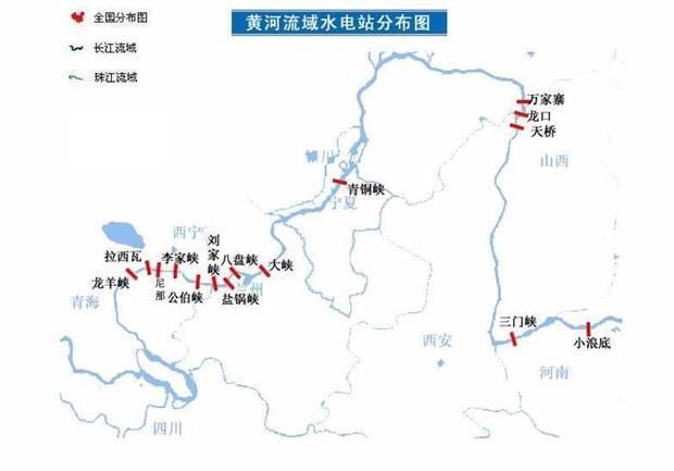 黄河主要水电站的名称?
