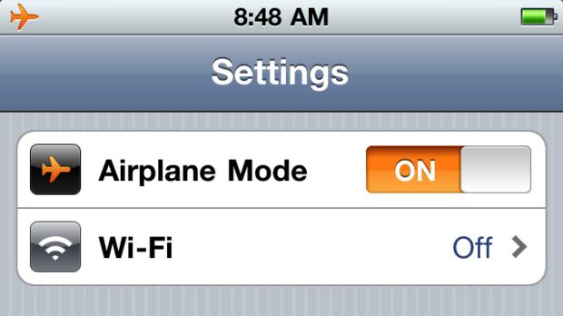 飞机上手机能不能开飞行模式?