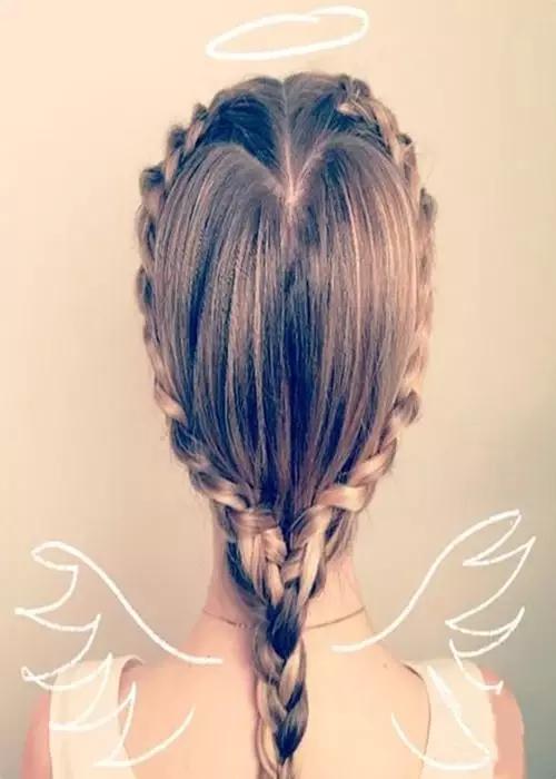 辫子长发发型