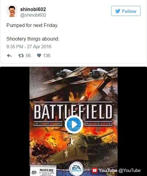 《战地5》公布日期