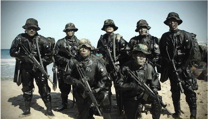 韩国有7个特种部队旅,其组织结构与美国特种部队