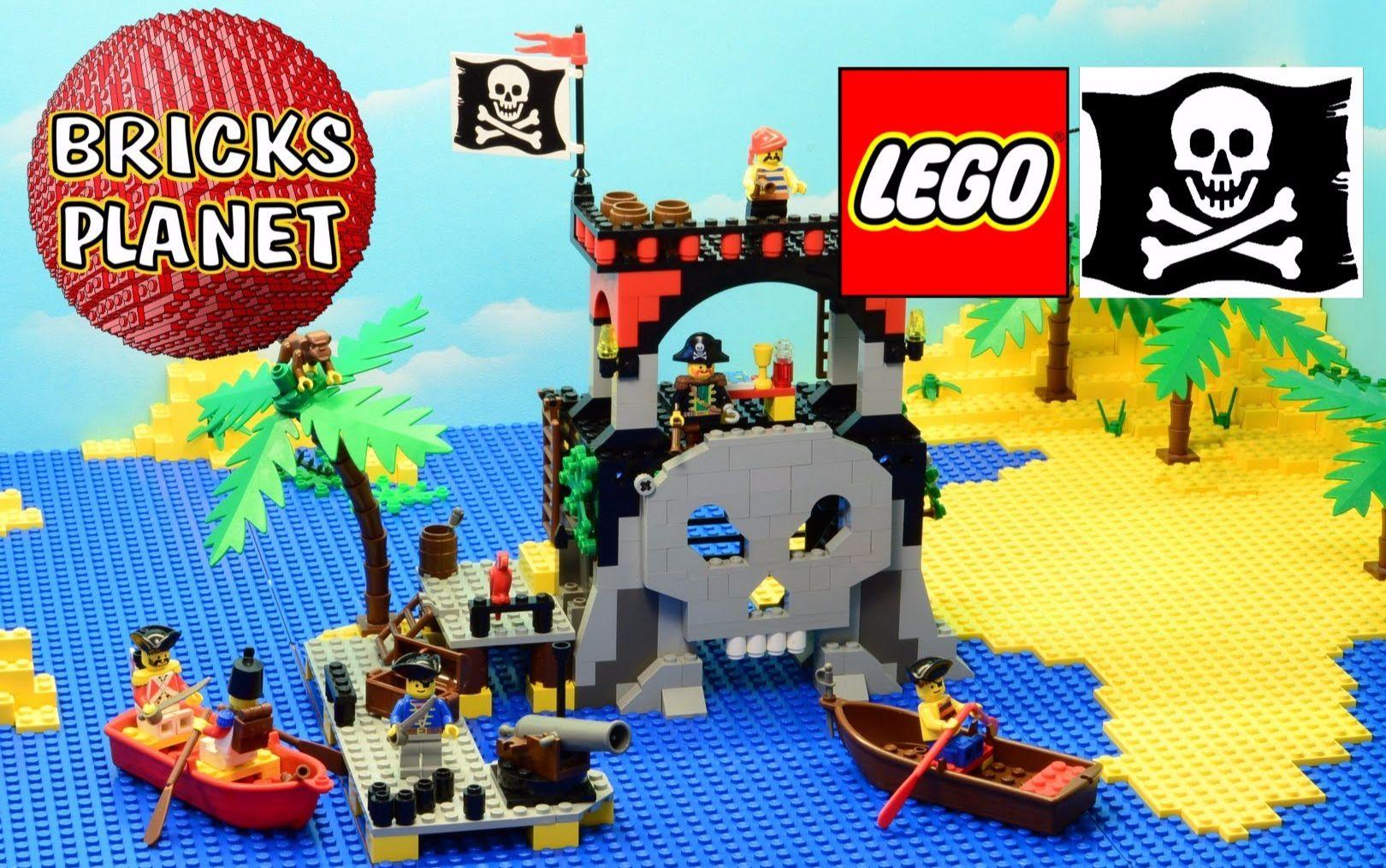 【LEGO】经典回顾-海盗?#30423;?279 Skull Island(骷髅岛1995)