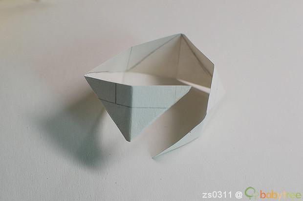 用纸袋子做手工小制作