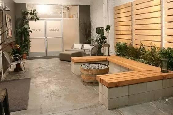 房子装修,创意先行,水泥砖变成好装饰