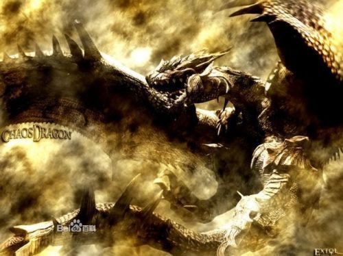 这是西方龙,西方龙的主要特征就是凶恶